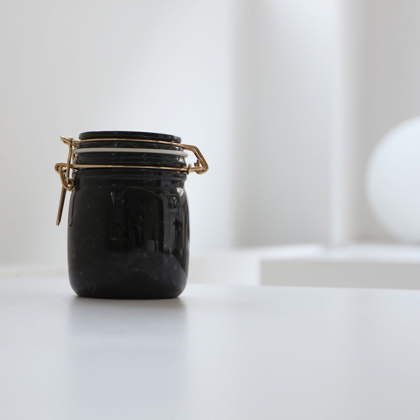 14. Mr Marble jar by Lorenza Bozzoli for Spazio Pontaccio 1400