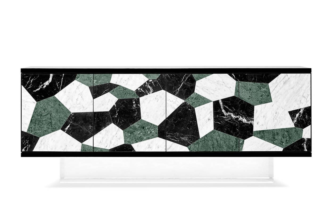 3.gj fractal sideboard green guatemala negro marquina carrara 1400