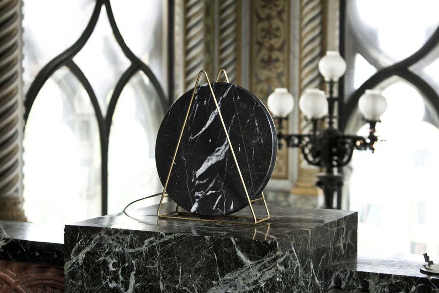 8. 1k novecento marble table lamps by davide g aquini 1400